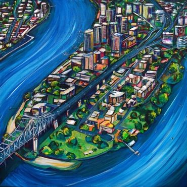 Kylie Farrelly - Brisbane Artist - The River City