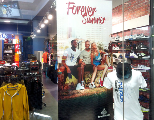 Mark Lobo - Foot Locker - Forever Summer - In Store Poster