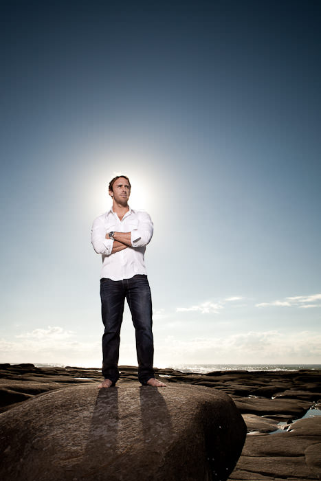 Mark Visser - Australian Big Wave Surfer