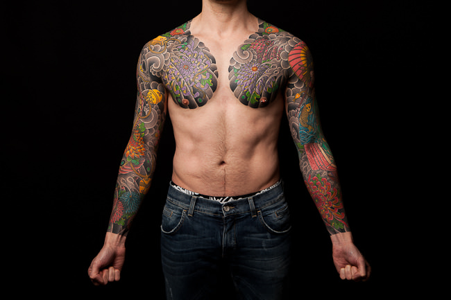 Mark Lobo - Matt Tucker - Japanese Tattoos