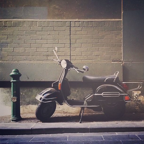 Mark Lobo Photography - Melbourne - Scooter
