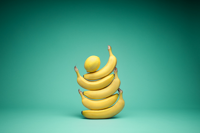 Food Photography - Bananas - Mark Lobo