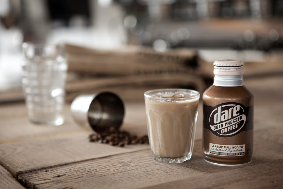 Dare Cold Pressed Iced Coffee | Mark Lobo Photography