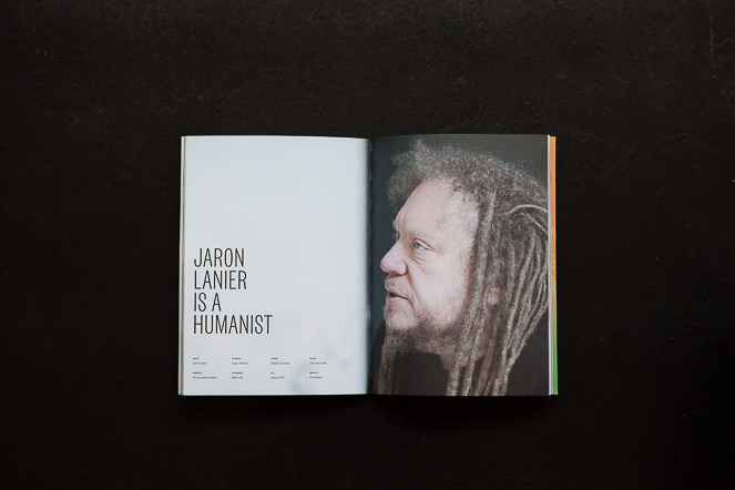 Jaron Lanier - Dumbo Feather - Mark Lobo Photography