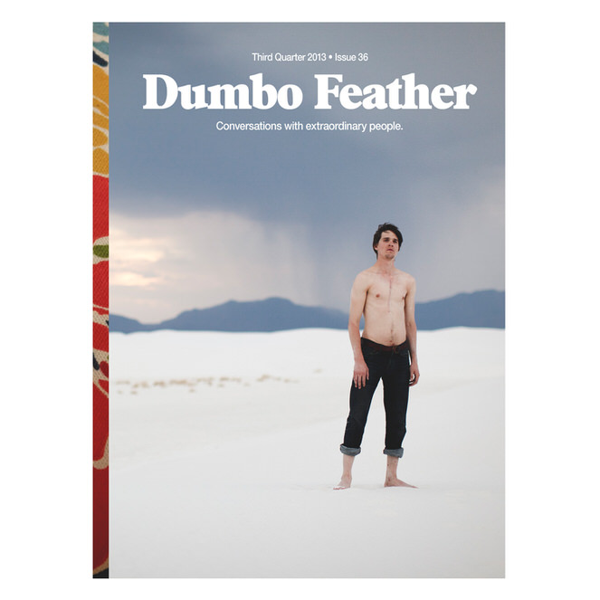 Jaron Lanier - Dumbo Feather - Mark Lobo Photography Cover