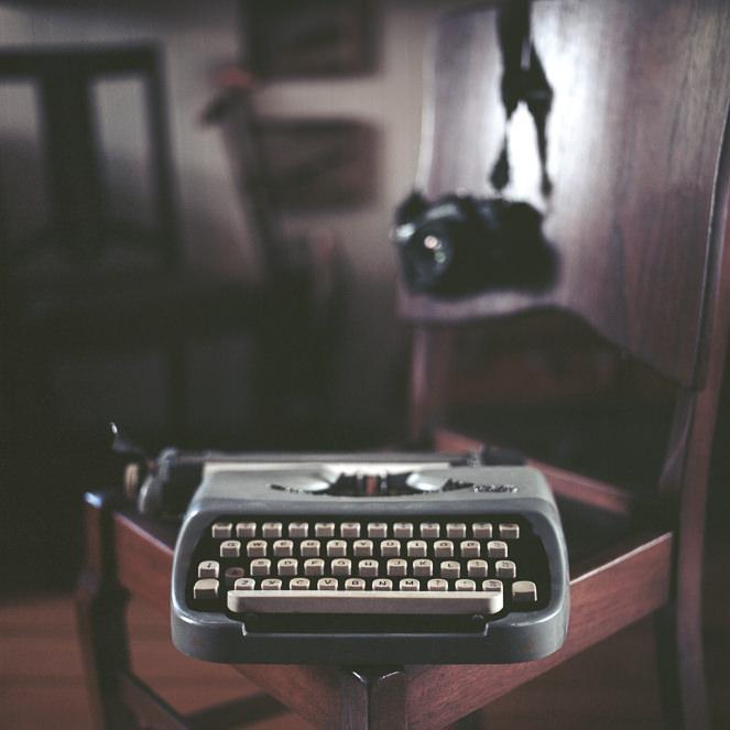 Von Vintage Typewriter Print - Mark Lobo