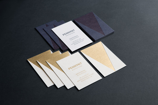 Foliolio - Business Card Photography - Pennant Case Study