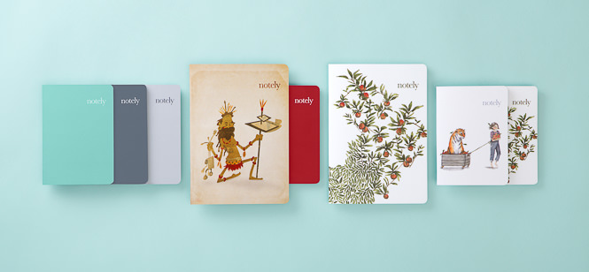 Notely Notebooks - Mark Lobo Photography