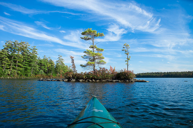 Kayaking Squam Lake - New Hampshire - Mark Lobo