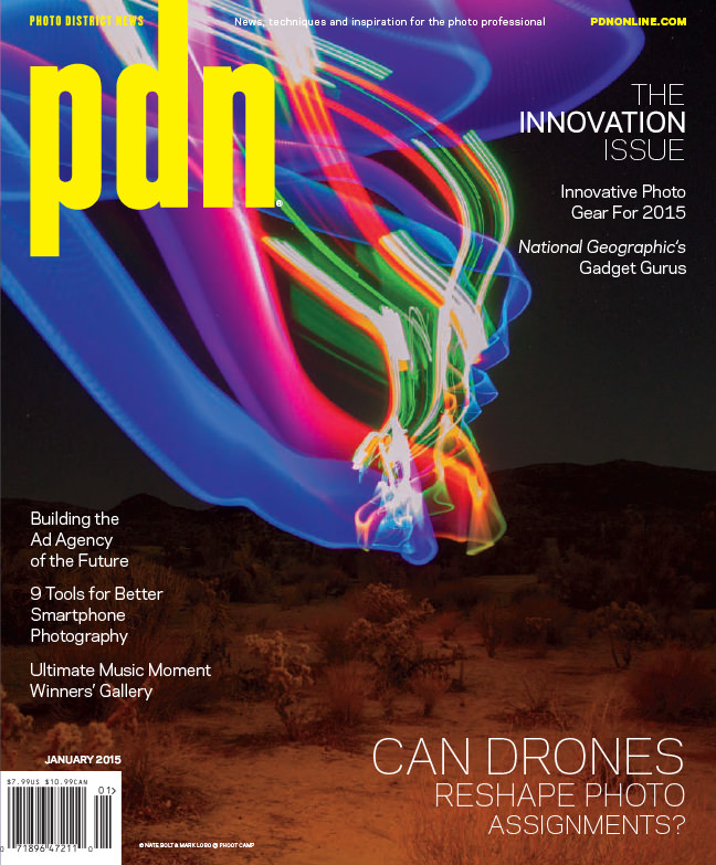 PDN Magazine - Mark Lobo |Nate Bolt - January 21Issue