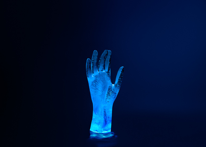 Ice Scultpure Photography - Hands - Mark Lobo
