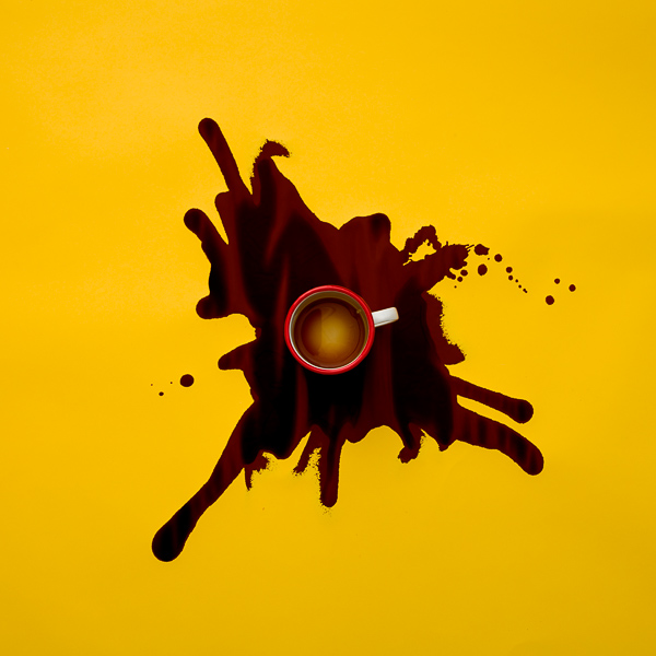 Coffee - Spill Series - Mark Lobo