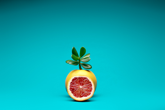 Playful Food Photography - Frankenfruit