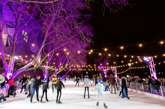Mark Lobo | AER | Winter In Fed Square | Melbourne